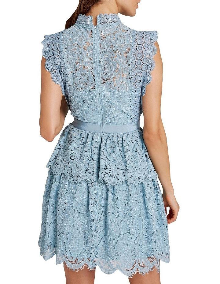 Lace Sleeveless Tiered Dress image 3