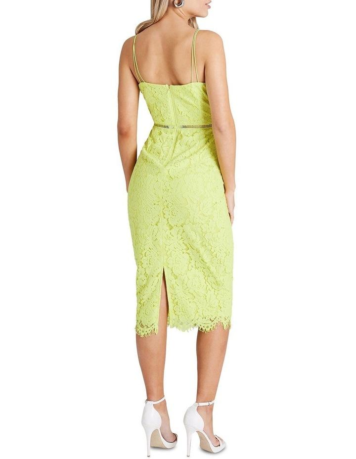 Strappy Lace Midi Bodycon Dress image 3