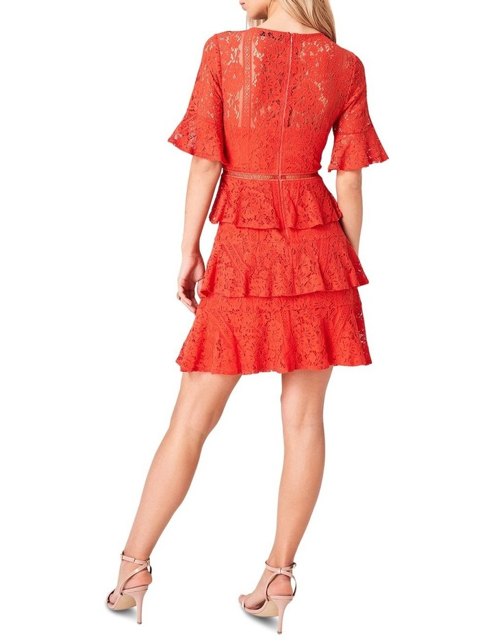 Lace Short Sleeve Tiered Dress image 3