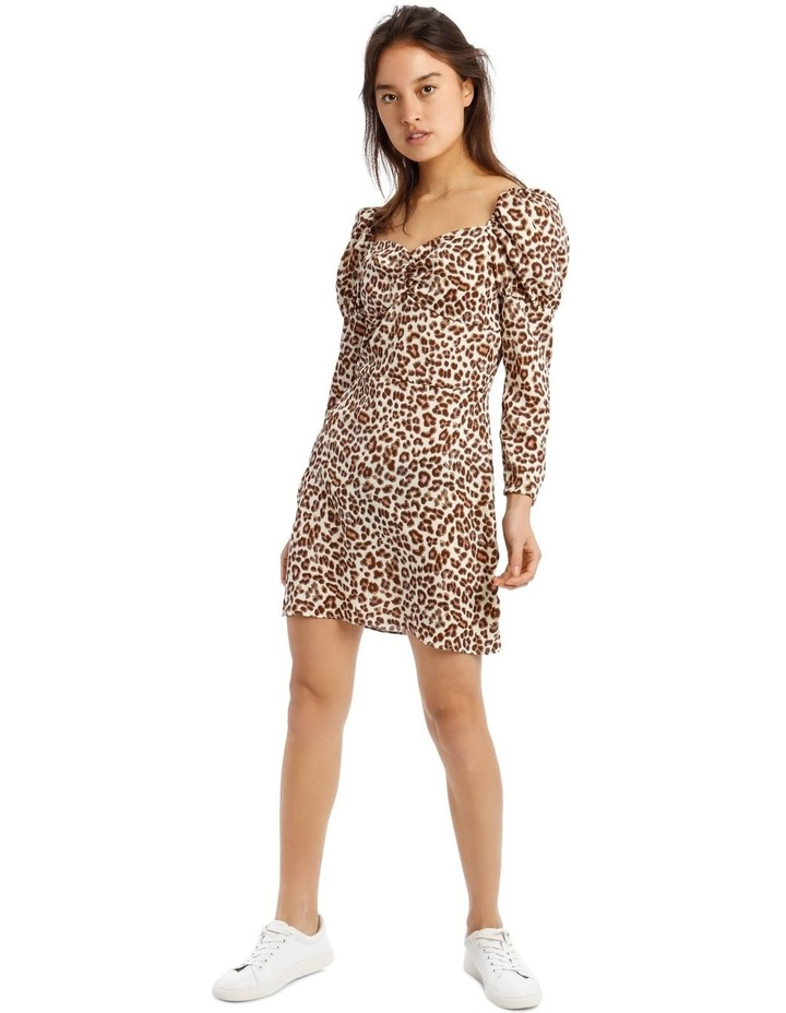 Animal Print Mini Dress image 1
