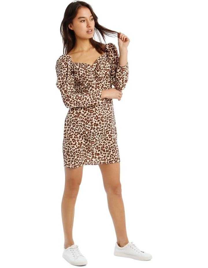 Animal Print Mini Dress image 2