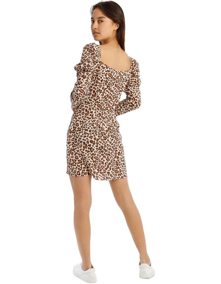Animal Print Mini Dress image 3