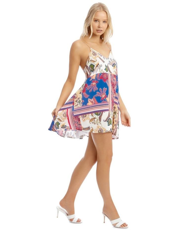 Floral Chain Strap Cami Shift Dress image 2