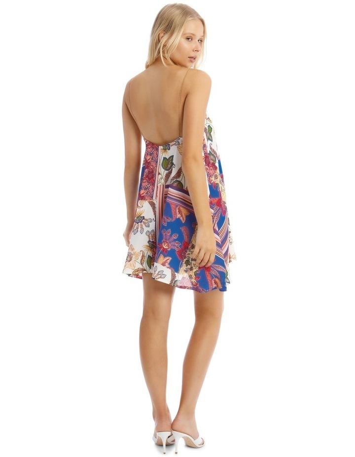Floral Chain Strap Cami Shift Dress image 3