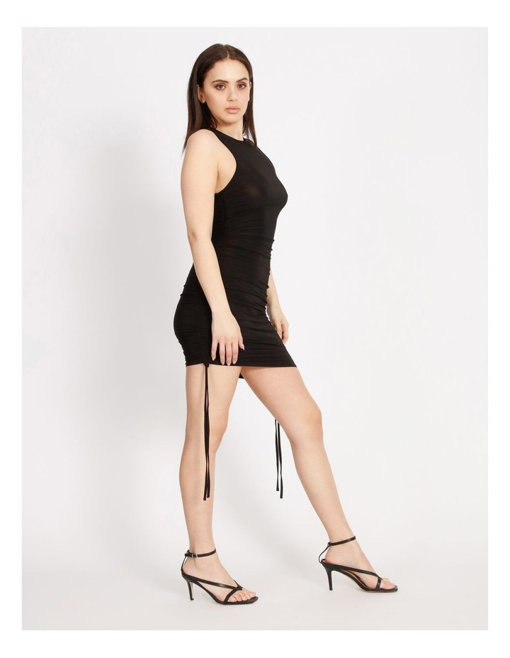 Ruched Side Bodycon Midi Dress image 2