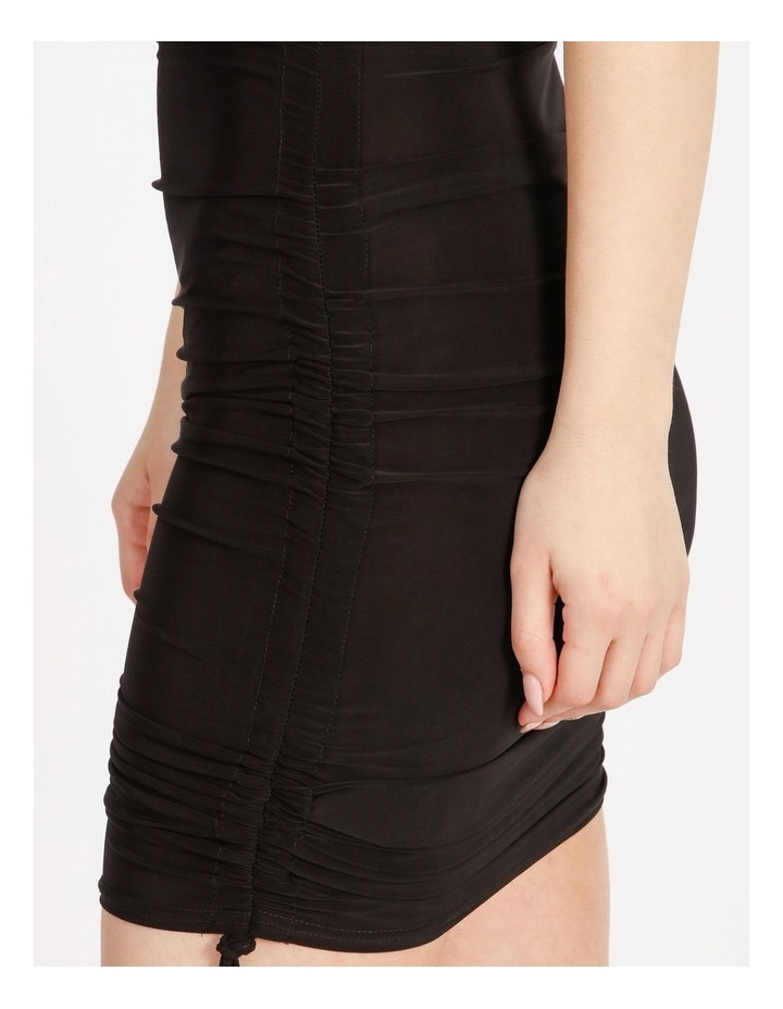 Ruched Side Bodycon Midi Dress image 4
