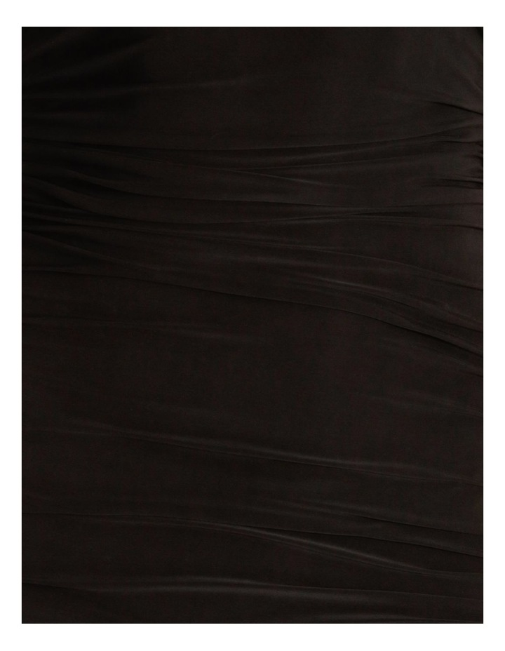 Ruched Side Bodycon Midi Dress image 5