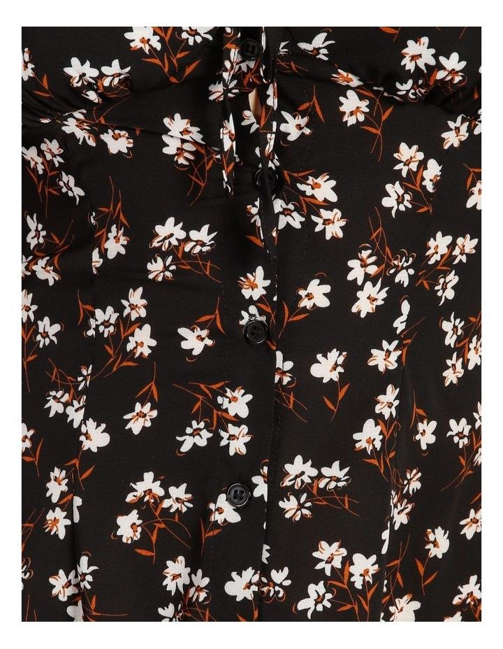 Cami Ruffle Strap Button Thru Dress image 5