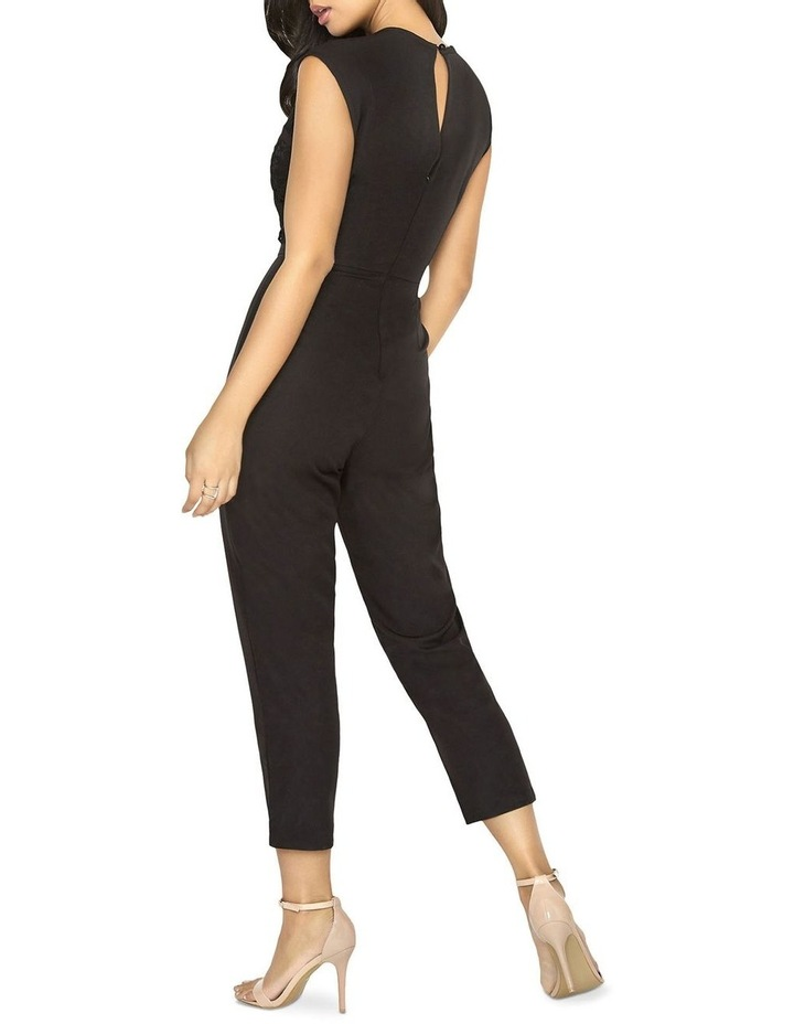 JUMPSUIT WITH LACE PANEL TOP image 2