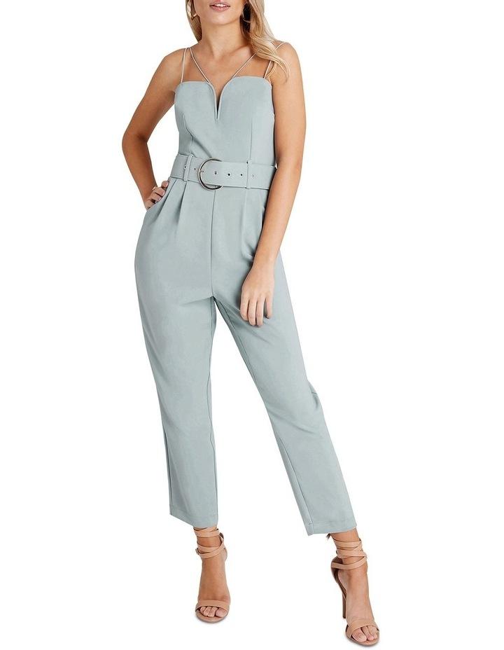 Belted Fl Jumpsuit image 2
