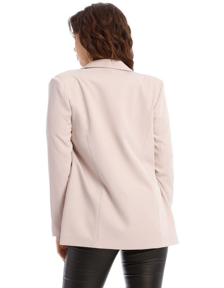 Double Breasted Longline Blazer image 4