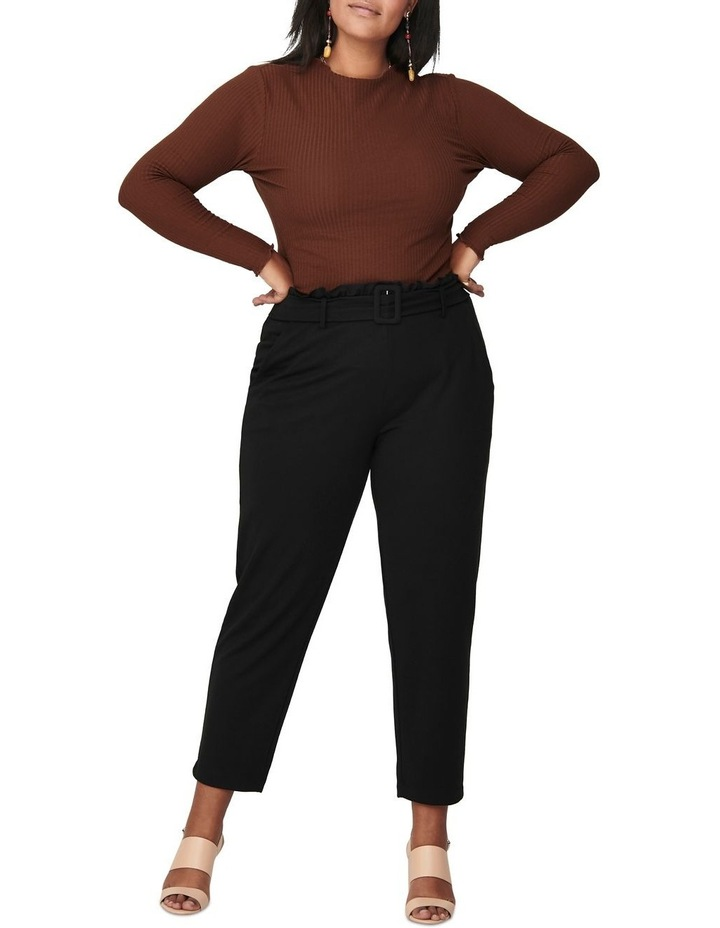 Ally High Neck Long Sleeve Top Cherry image 3