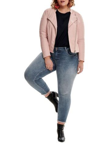 7d066b28464 ONLY Carmakoma Avana Faux Leather Jacket