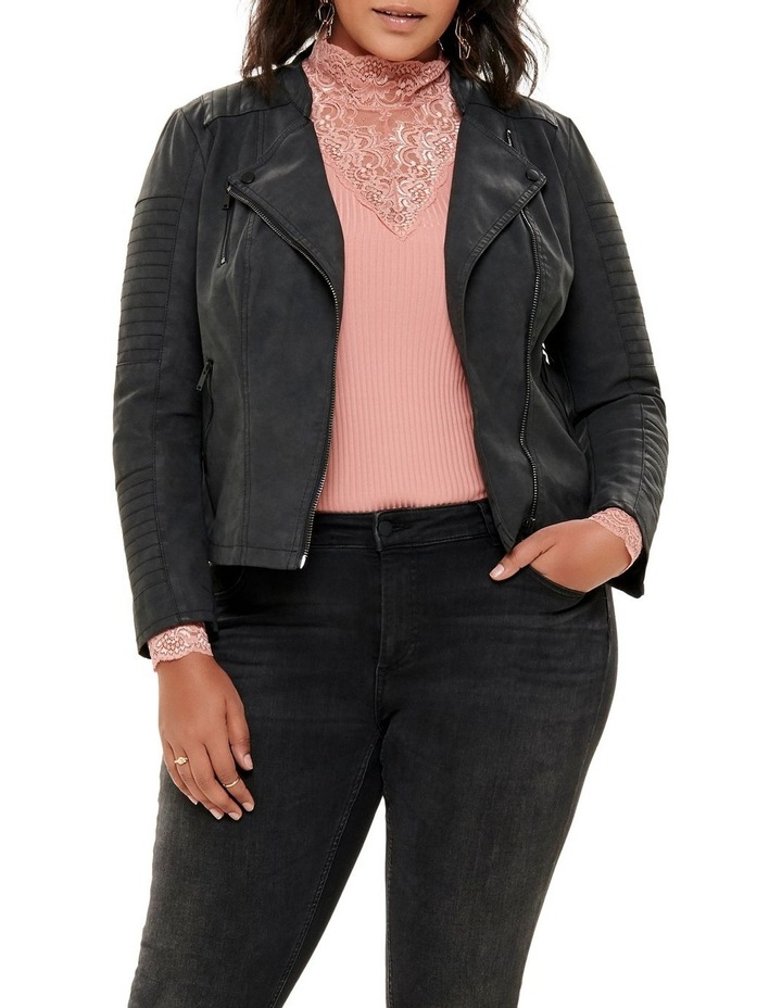 Avana Faux Leather Jacket image 1