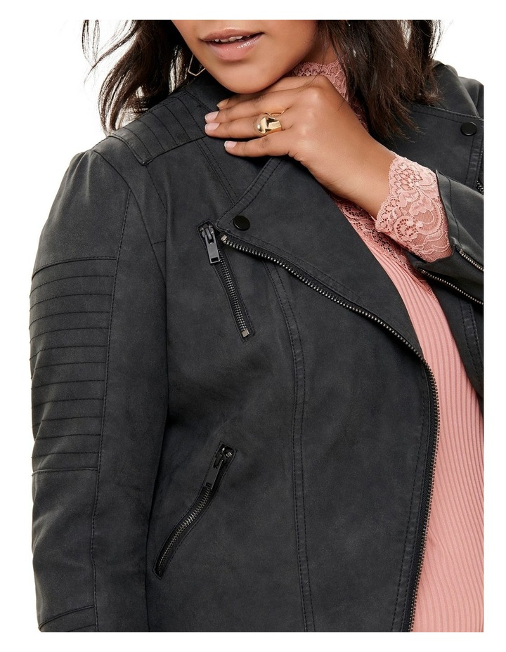 Avana Faux Leather Jacket image 3