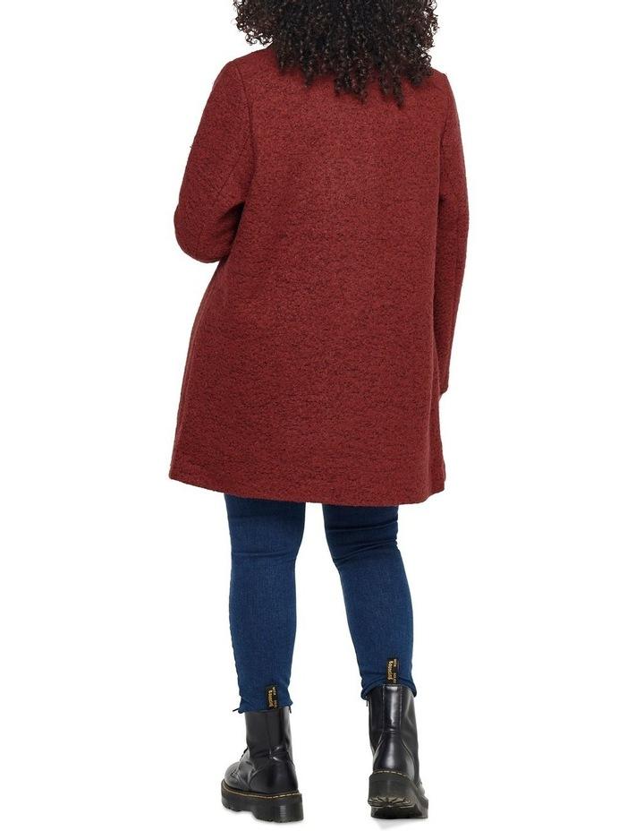 Sophia Wool Coat Dark Brown image 2