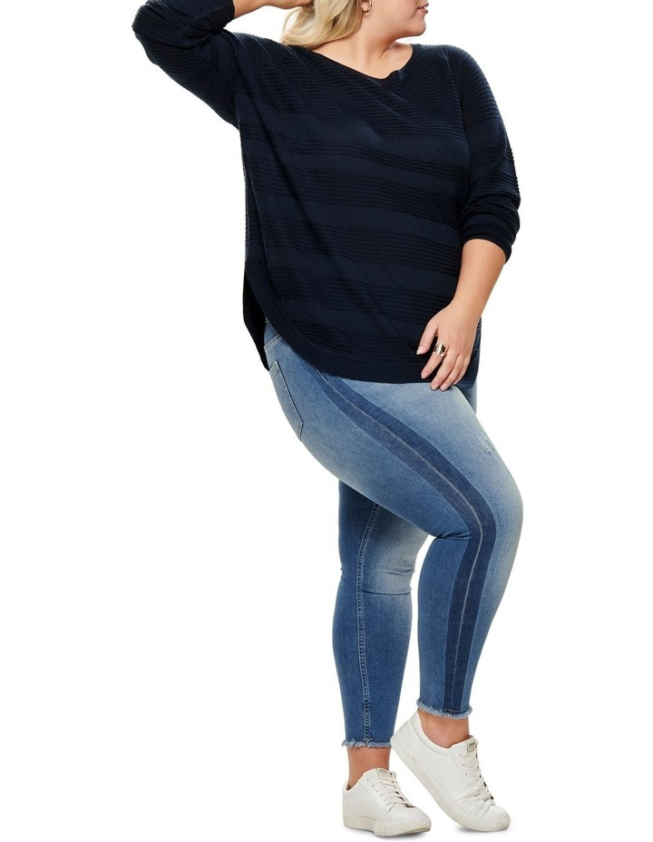 Plain Long Sleeve Pullover Knit image 5