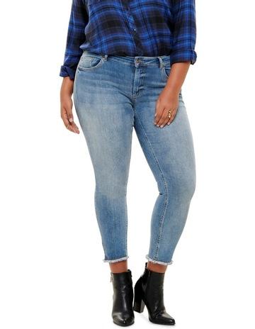 c21637b6 ONLY Carmakoma Willy Reg Skinny Ankel Jeans
