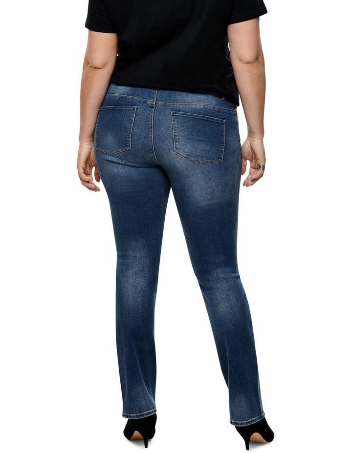 Carma Regular Ankle Medium Blue Denim Straight Leg Jean image 2