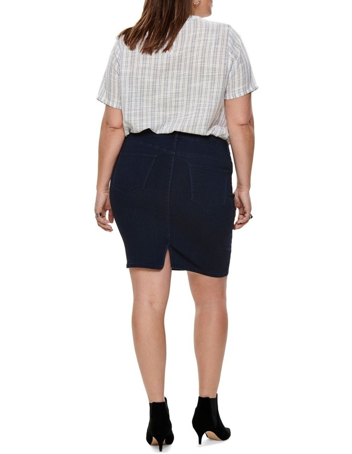 Thunder Denim Pencil Skirt image 2