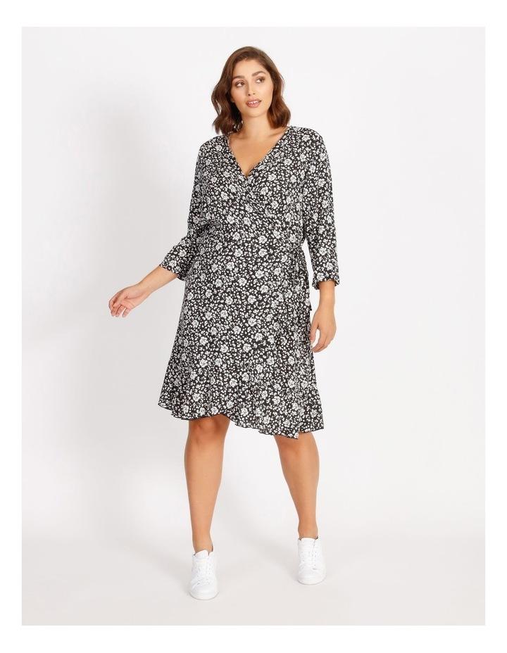 Carlolli 3/4 Short Wrap Dress image 1