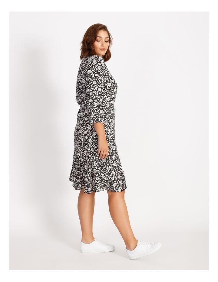 Carlolli 3/4 Short Wrap Dress image 2