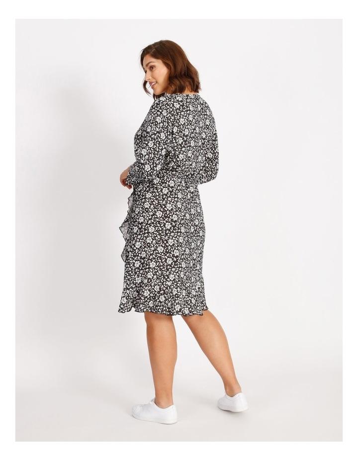Carlolli 3/4 Short Wrap Dress image 3