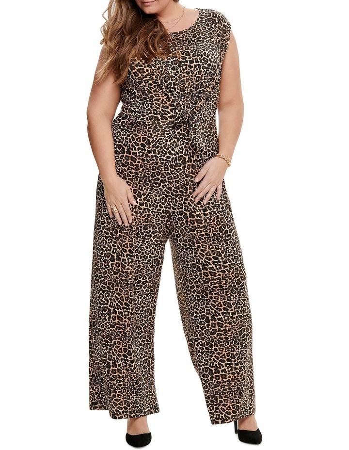 Tyra Sleeveless Jumpsuit Aop Leopard image 1