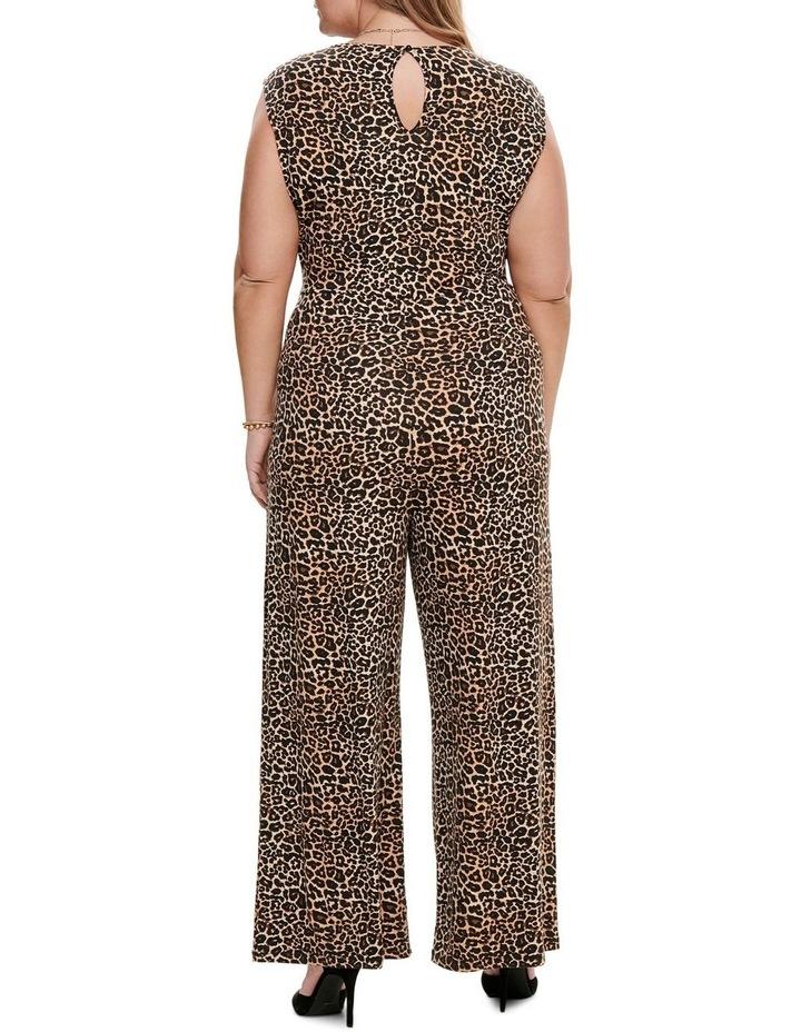 Tyra Sleeveless Jumpsuit Aop Leopard image 2