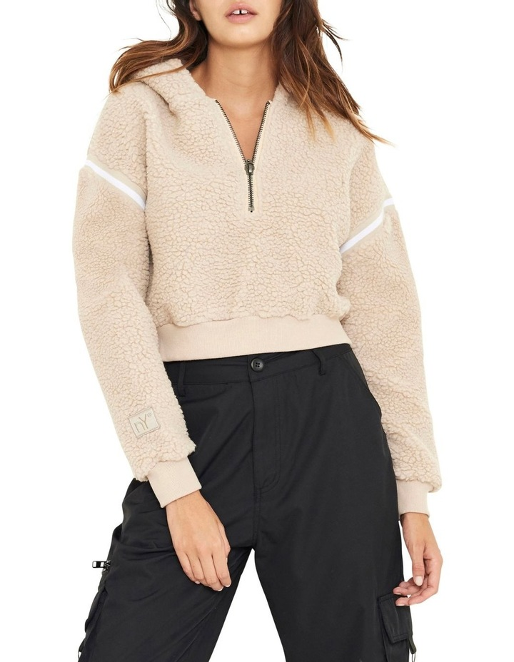 Blair Sherpa Half-Zip Sweater image 1