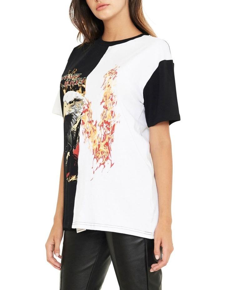 Reason Contrast Split Vintage Inspired T-Shirt image 2