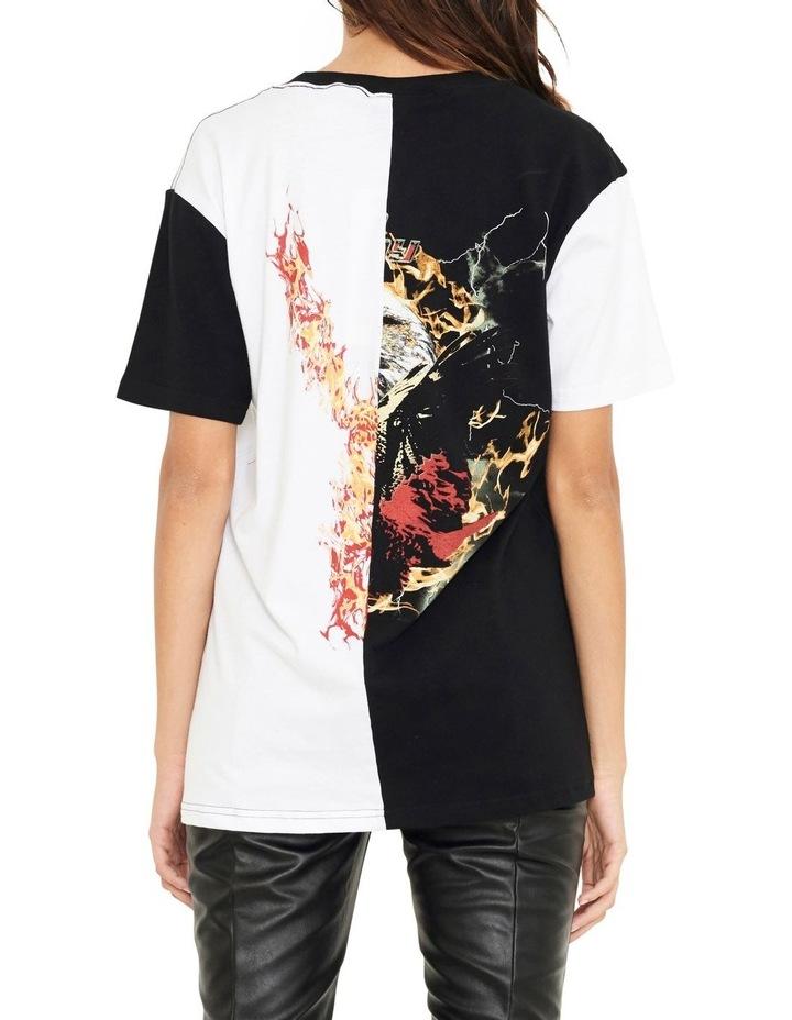 Reason Contrast Split Vintage Inspired T-Shirt image 4