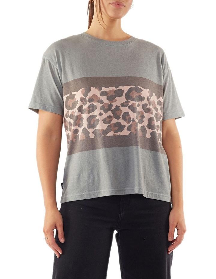 Leopard Panel Tee image 1