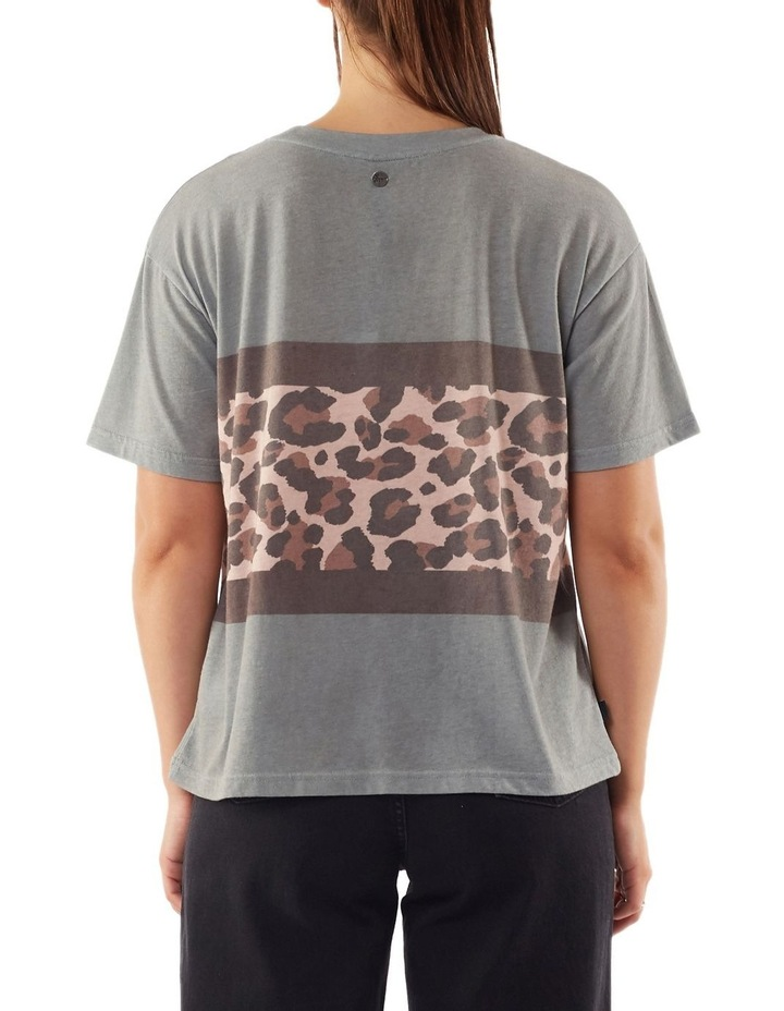 Leopard Panel Tee image 2