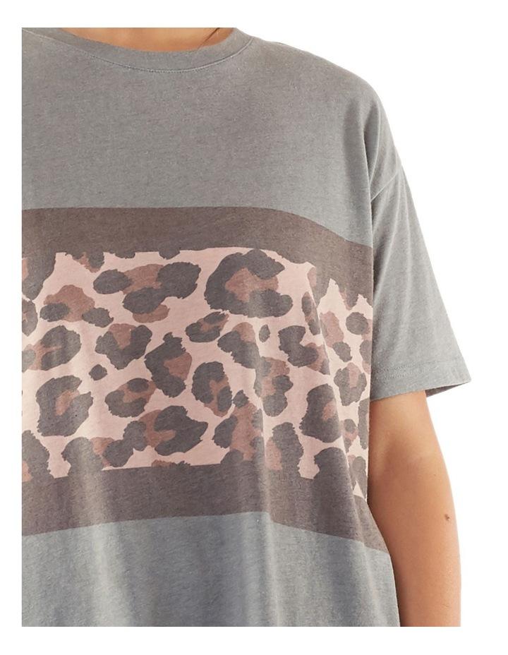 Leopard Panel Tee image 4
