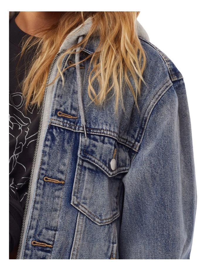 Layered Denim Jacket image 4
