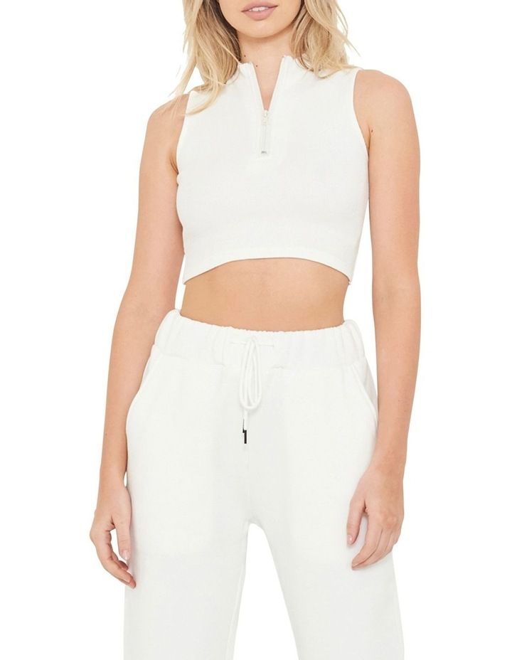 The Authentic Crop Rib Top image 1
