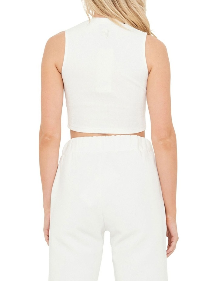 The Authentic Crop Rib Top image 2