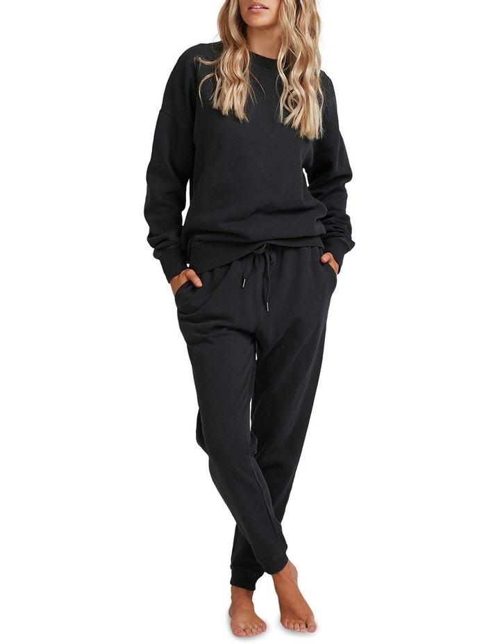 Old Black Trackpants image 1
