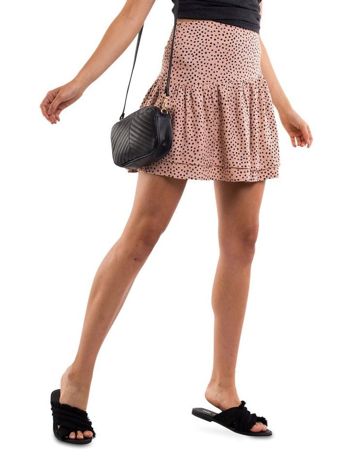 Painted Dot Mini Skirt image 1