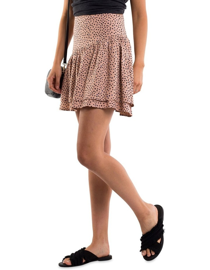 Painted Dot Mini Skirt image 3