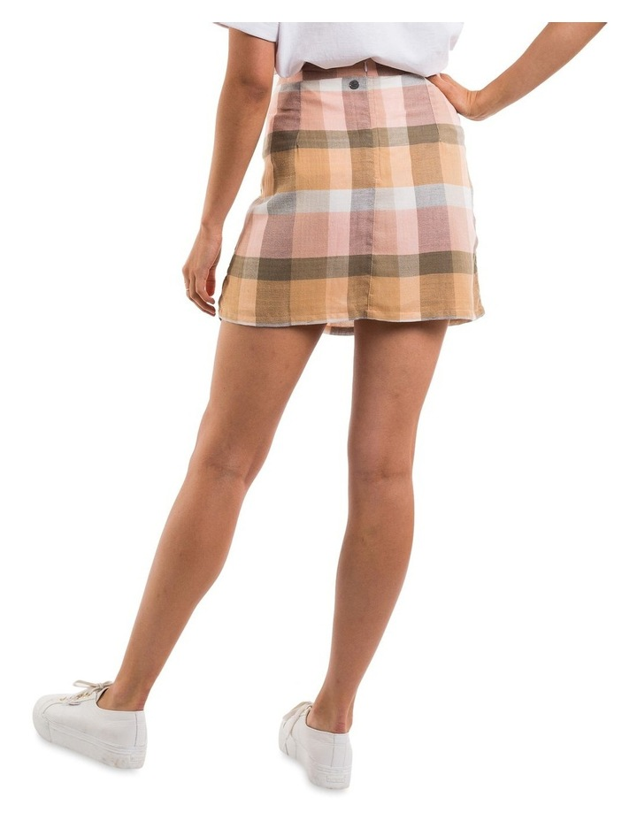 Rainbow Check Mini Skirt image 2