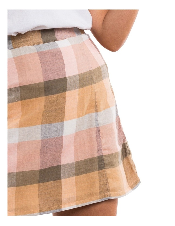 Rainbow Check Mini Skirt image 3