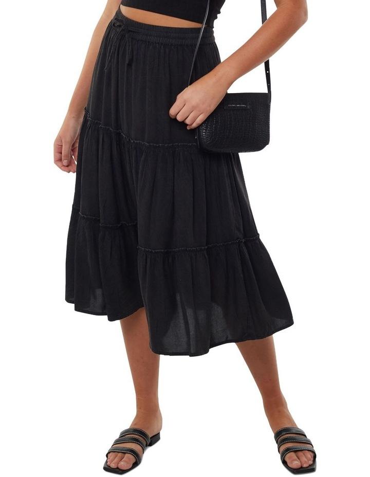 Claudia Midi Tiered Skirt image 1