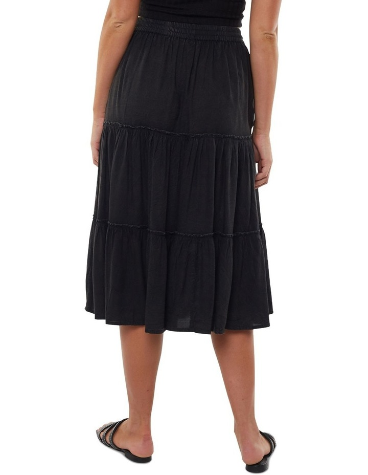 Claudia Midi Tiered Skirt image 2