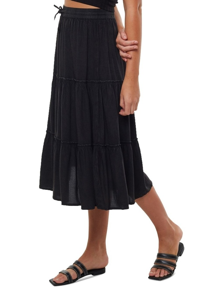 Claudia Midi Tiered Skirt image 3