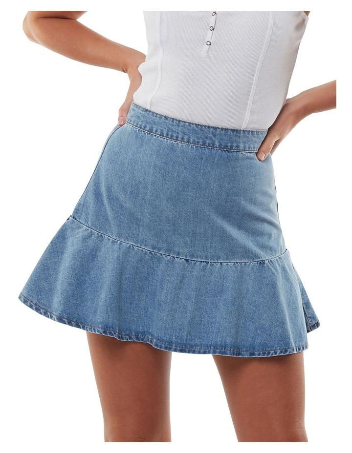 Havana Flippy Denim Skirt image 1