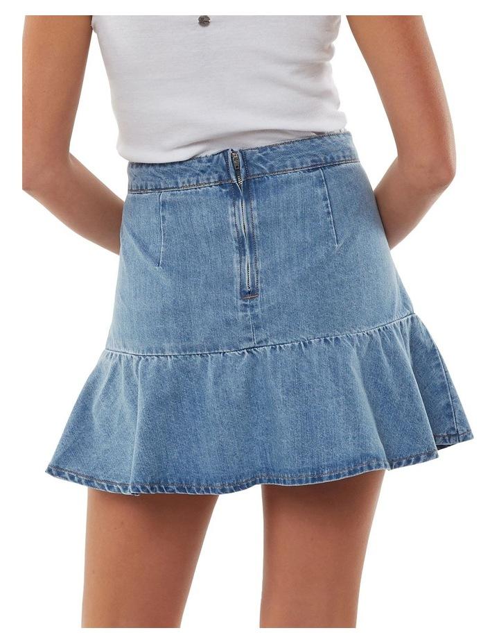 Havana Flippy Denim Skirt image 2
