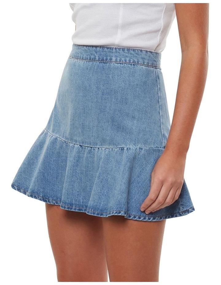 Havana Flippy Denim Skirt image 3