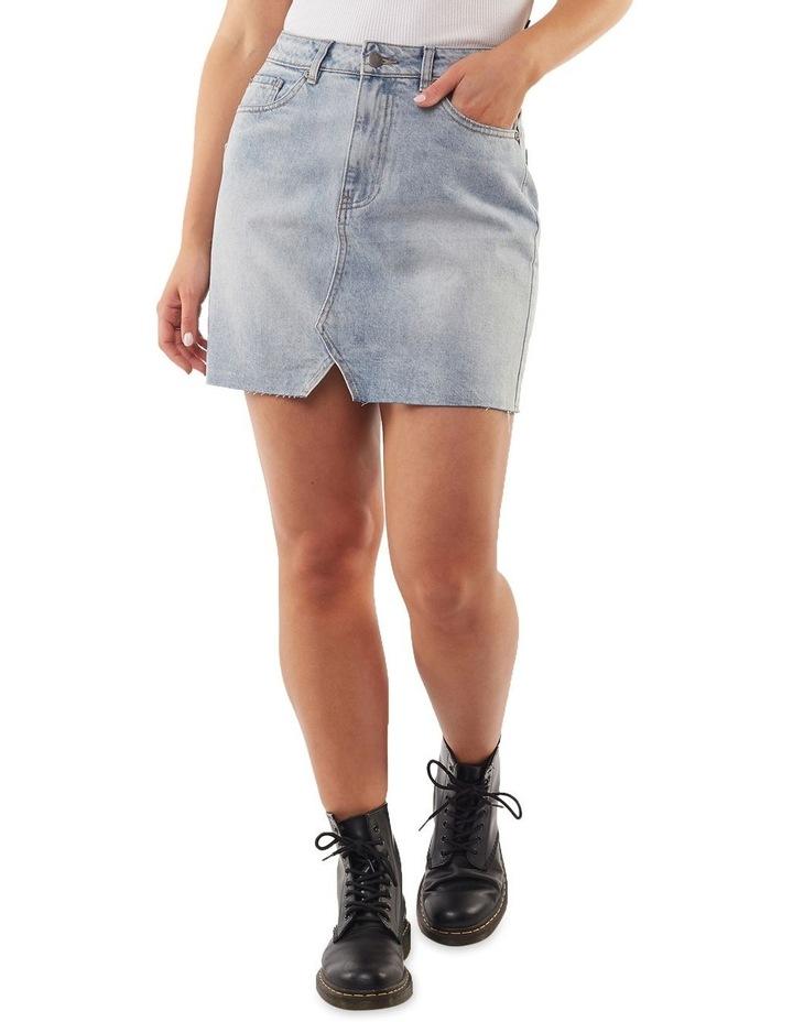 Shea Split Denim Skirt image 1